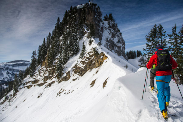 Skitour zum Beslerkopf (Fotoshooting für einStein-Consulting / Highland Camper)