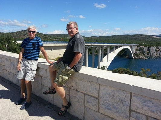 Brücke über die Krka