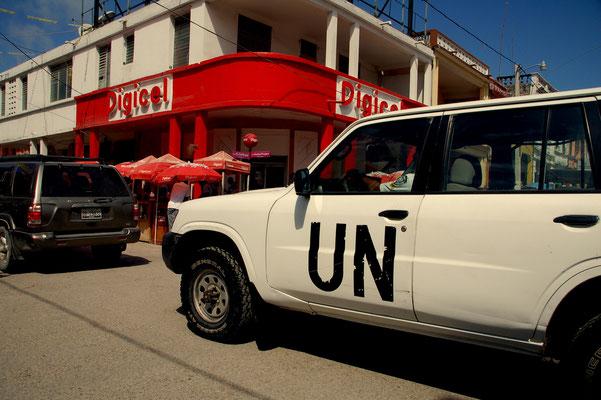 noch immer aktiv in Haiti..... Die UN