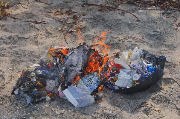 Müllverbrennen ist aus unserer Sicht noch die beste Möglichkeit dieses los zu werden