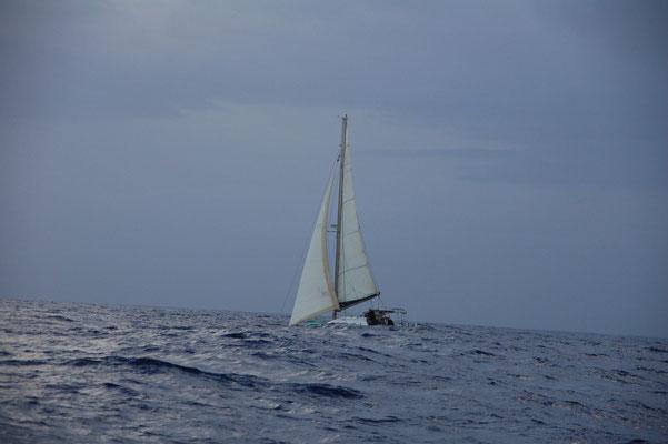 Flucht vor den Gewittern, zusammen mit DORADO