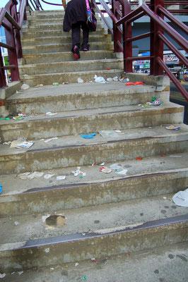 Müll liegt überall - und wird auch nicht weggeräumt