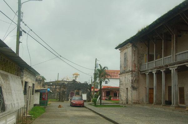 Porto Bello wirkt etwas runter gekommen