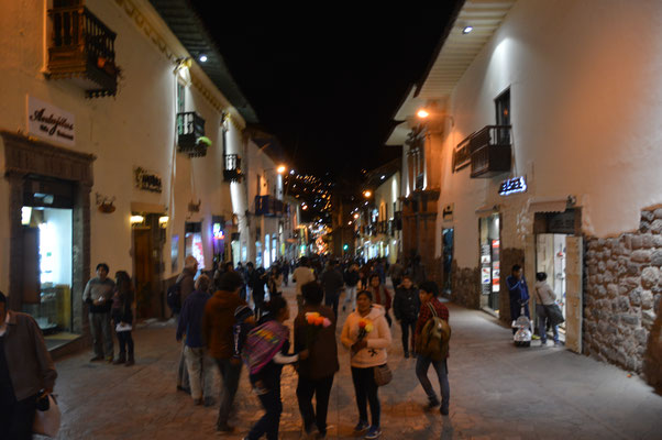Nachts in  CUZCO