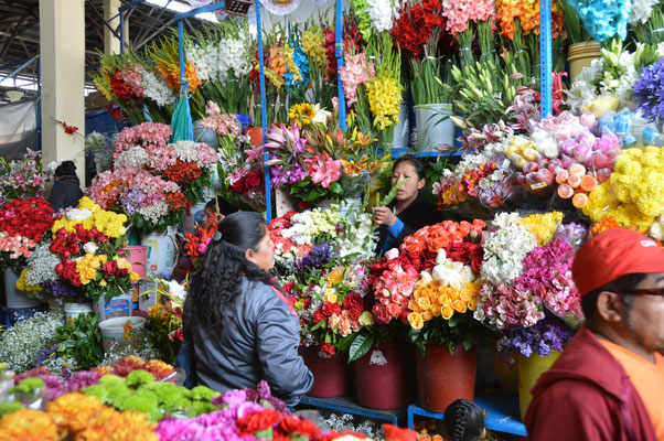 CUZCO,  MERCADO CENTRAL