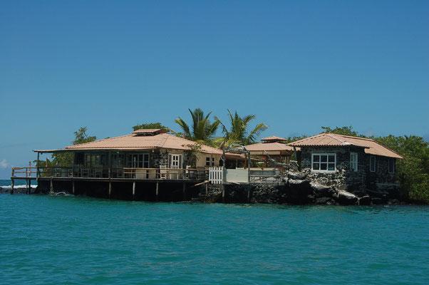 Amgermeyer-Point, erste Bar in Puerto Ayora / Santa Cruz von Deutschen Auswanderern