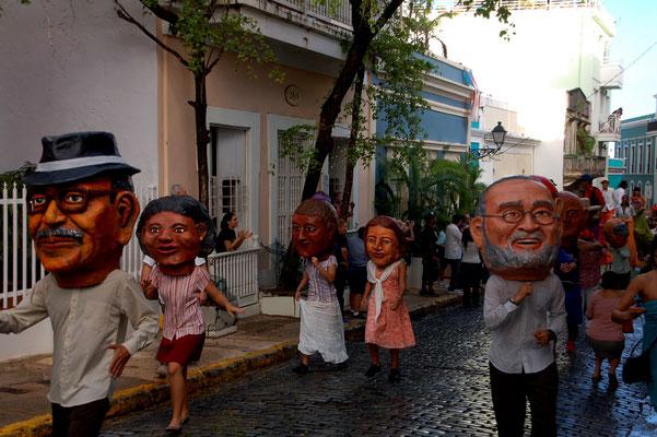 ....in der Altstadt von San Juan.