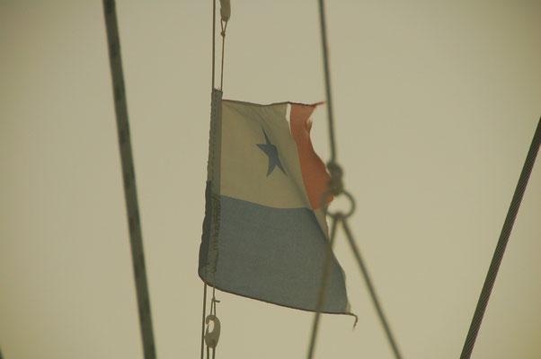 Die Flagge ist fertig: Zeit zu gehen ?