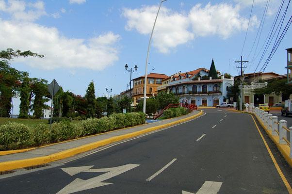 Eingang zur Halbinsel von Casco Viejo ( Alte Stadt )