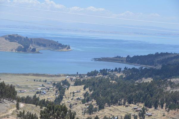 ..... entlang des Ostufers des Titicacasees