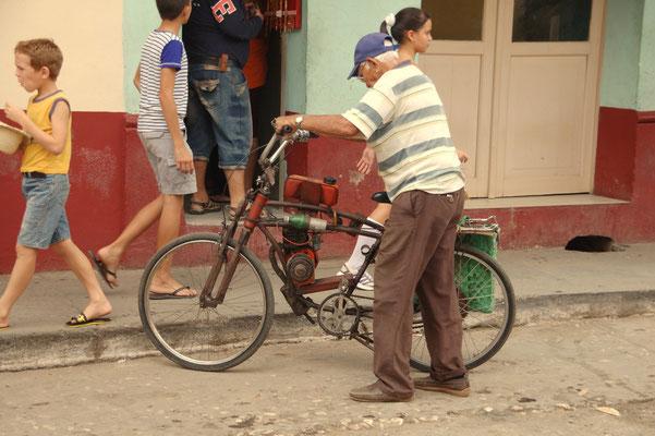 Fahrrad als Rennmaschine