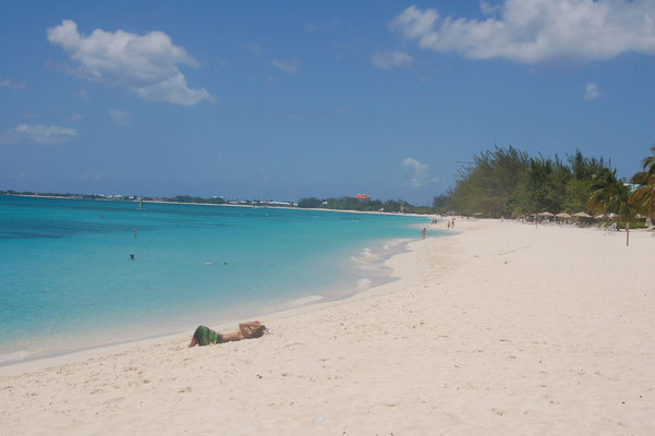 Am seven-mile-beach