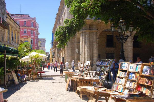 Der Buchmarkt in Habana