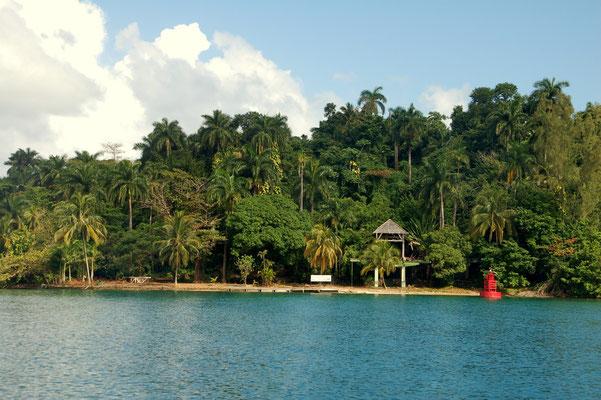 Navy Island ehemals von Errol Flynn