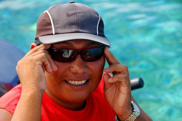 ....und für ihn eine Sonnenbrille geschenkt