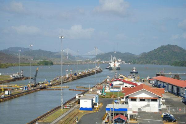 Hauptatraktion in Panama ist der gleichnamige Kanal....
