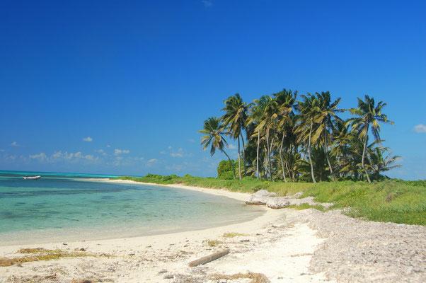 Einsamkeit etwa 100km vor der Küste von Honduras