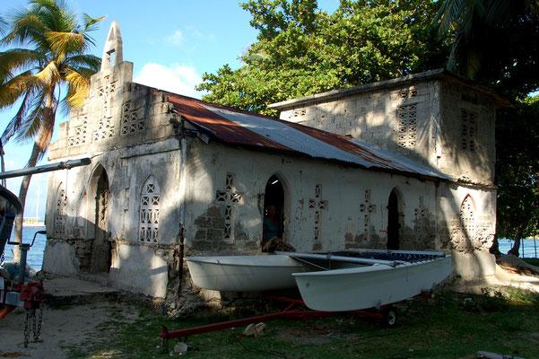 Die alte ( katholische) Kirche......