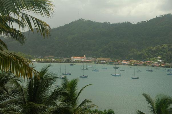 Blick auf San Felipe de Porto Bello