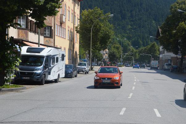 Parken in Städten... Man braucht auch ein wenig GLÜCK !