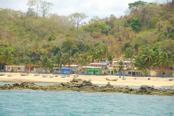 Das kleine Dorf Esmeraldas