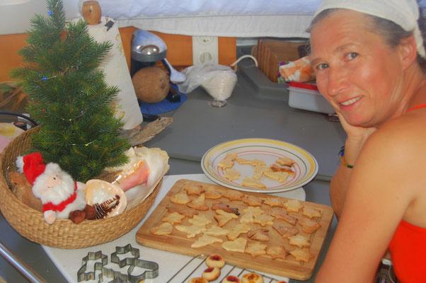 Weihnachtsbäckerei an Bord