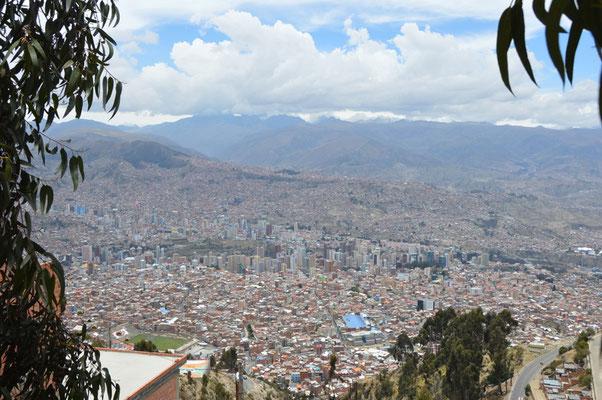 LA PAZ hat etwa 1,2 MIO Einwohner