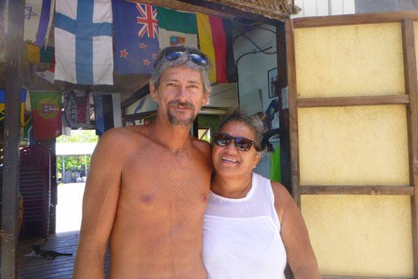 Vallerie und Gaston leben seit 32 Jahren hier