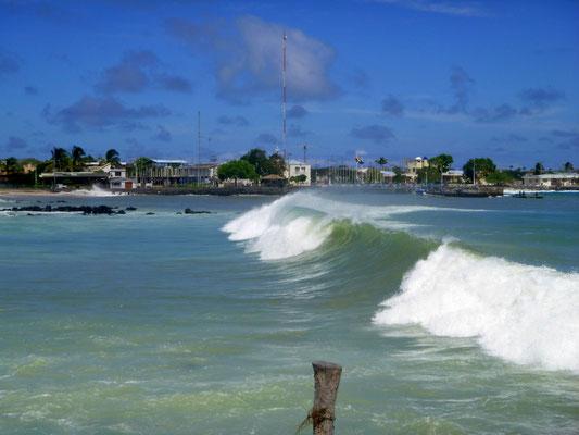 Solche Wellen hatte man hier schon lange nicht mehr....
