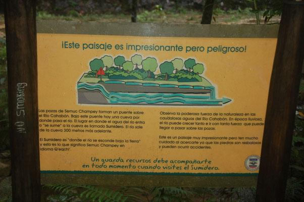 Oben tie Terrassas, unten der Rio Grande