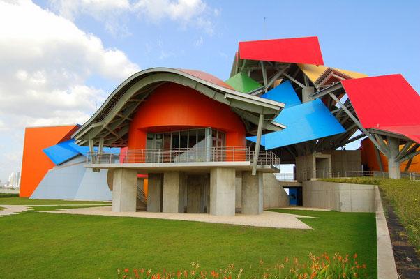 Ein Gehry-Bau: Museo del Biodiversica