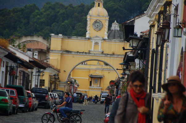 In ANTIGUA de Guatemala