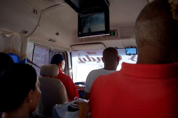 Im Bus nach Boca Chica