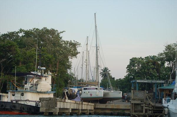 Derzeit das größte Boot am Platz