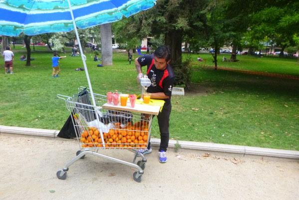 Frischer Orangensaft gefällig ?