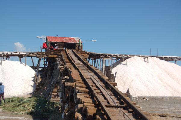 Salzgewinnung in Salina
