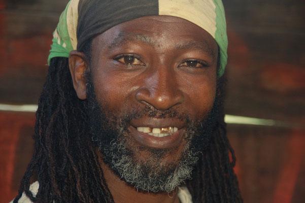 Marley, stolzer Kaffeepflanzer in 4. Generation