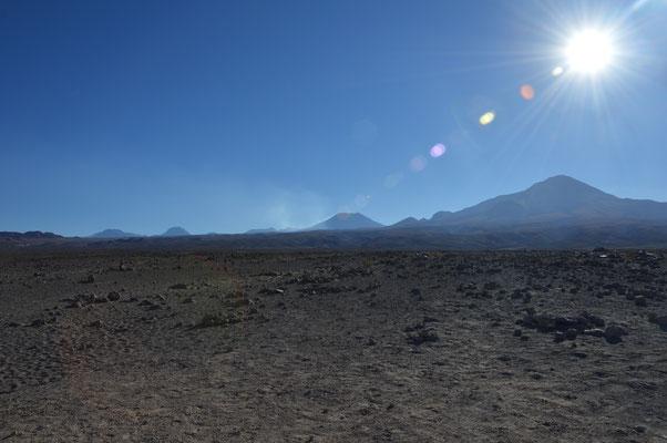 DESERTO DE ATACAMA.....  die Atacamawüste