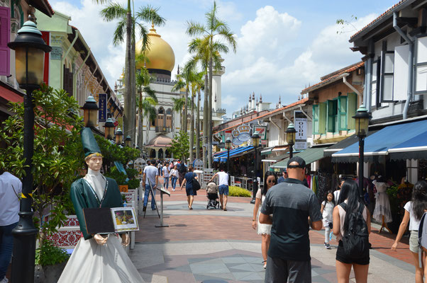 ARAB STREET  IN MALAY