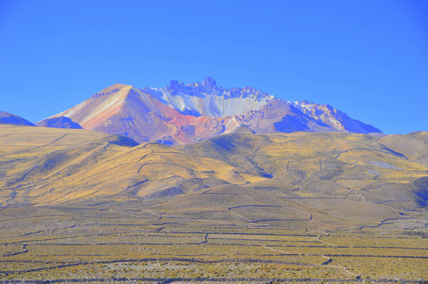 Volcano IRUPUTUNCU  4110m.