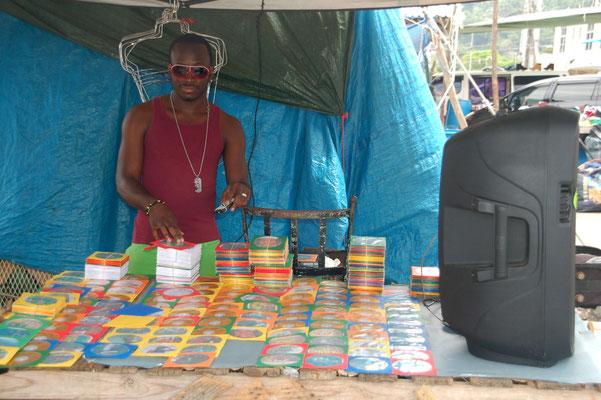 Musikverkäufer in OCHO RIOS