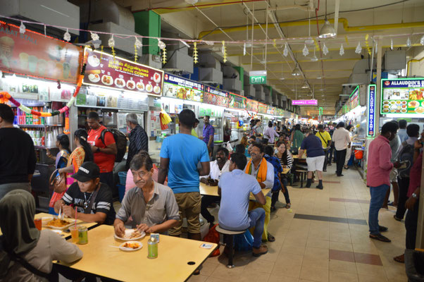 FOOD STALL IN LITTLE INDIA
