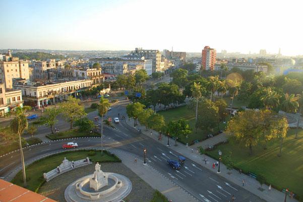 Ausblick vom Dach des Hotel Saratoga