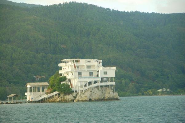 Luxus-Tauchhotel: Dumbar Rock, Guanaja, Honduras