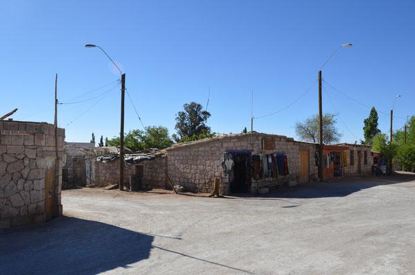 Das 500-Seelendorf TOCONAO liegt nur wenige Kilometer vor der Grenze Chile-Bolivien-Argentinien