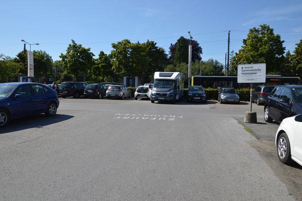 Parken in Städten ist grundsätzlich problematisch. Hier am grossen Bahnhofsparkplatz Bregenz