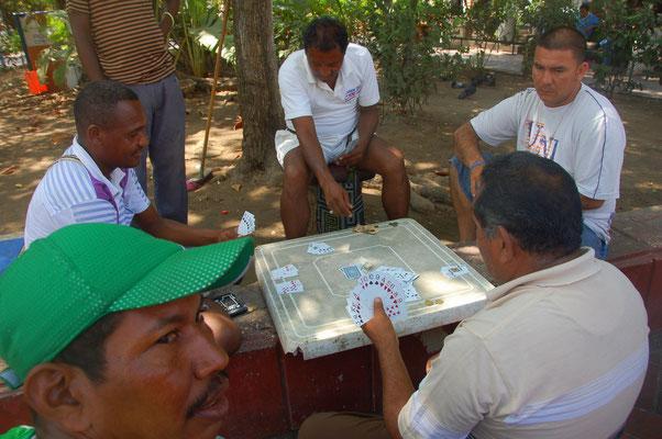 Brett- oder Kartenspiele nur für Männer