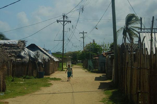 Hauptstrasse auf Nargana Yandup