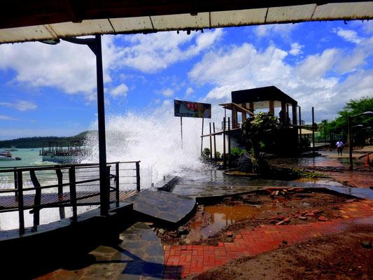 Für die Uferpromenade eine Katastrophe