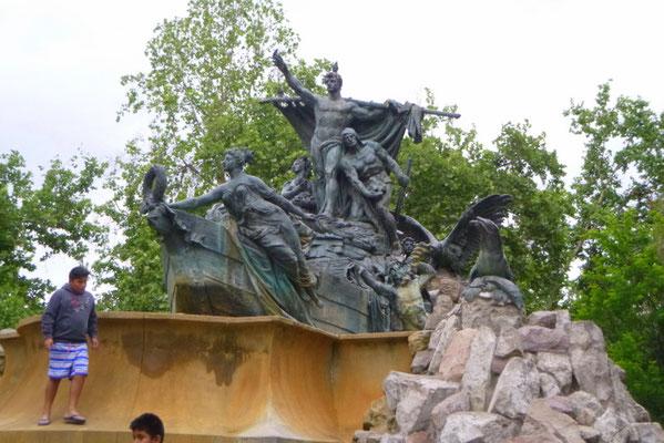 Deutscher Brunnen im Parque Forrestal